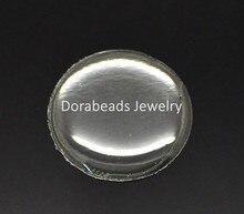 DoreenBeads 96PCs Clear Round Epoxy Domes Resin Stickers Cabochon 18mm(3/4″) (B18432), yiwu