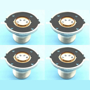 Image 1 - 4Pcs / Lot High Quality Diaphragm Speaker Unit Treble Voice Coil For JBL 2414H,2414H 1, 2414H C Replacement Diaphragm