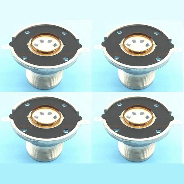 4Pcs / Lot High Quality Diaphragm Speaker Unit Treble Voice Coil For JBL 2414H,2414H 1, 2414H C Replacement Diaphragm