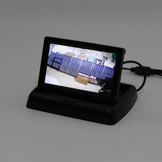 Para Dodge Journey/JC/JCUV Carro Dobrável HD TFT Exibição na Tela Do Monitor LCD NTSC/PAL TV a Cores do Sistema de Segurança