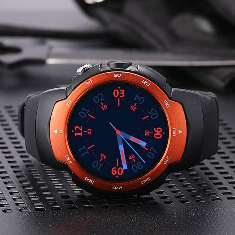 2018 Waterproof Smartwatch Bluetooth GPS Smart Watch Phone 3G Camera Watch Wifi Heart Rate Monitor Sport Watch Men Gift
