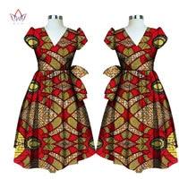 Atacado vestido de verão imprimir Dashiki Africano tradicional para as mulheres femme vestidos Bazin Riche longo plus size 6l BRW WY1797