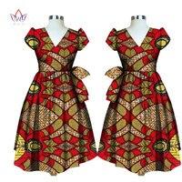 Summer dress wholesale traditional African print Dashiki for women femme vestidos Bazin Riche long plus size 6l BRW WY1797