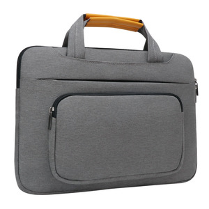 iCozzier 13.3 inch Front Pocket Laptop Sleeve Large Capacity Handbag Protective Business Case Bag for 13 Ultrabook/Notebook