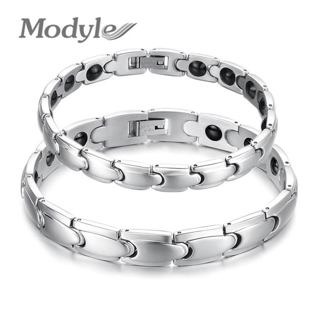 Top Quality Magnetic Stainless Steel Bracelet!