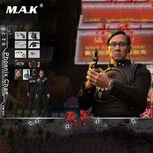 1/6 Collectible Full Set Action Figure Jordan chan Phoenix Chan Hong Kong Opera Anti-Black OCTB Model for Fans Collection Gifts