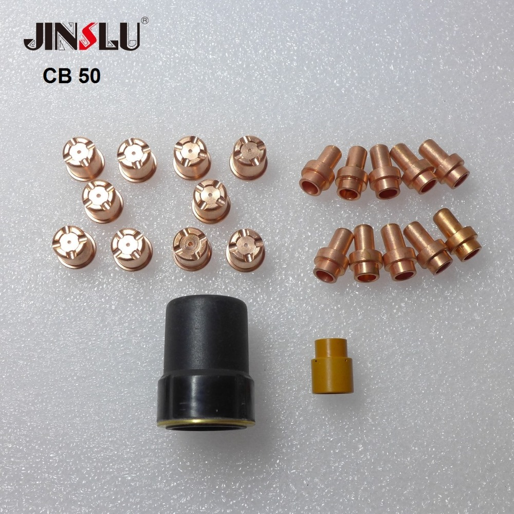 22PCS Plasma Cutting Torch Parts Fit CB50 CB 50 CP50 CP 50 CB-50  Cebora LT50 LT 50 LT-50 Svarog Cut 40b