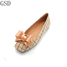 hot deal buy fashion  women's shoes -gs a12-6 comfortable flat shoes  new arrival   flats shoes large size shoes women  flats