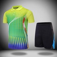 New Quick dry table tennis clothes Women/Men , Badminton sets , table tennis sets , badminton shirt + shorts 210