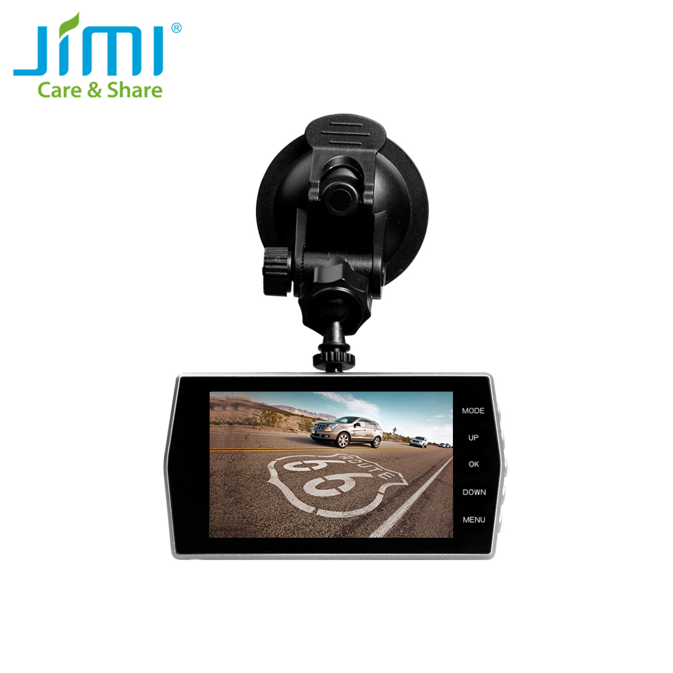 Jimi 1080P JC01 Dual Lens Dash Cam With Night Vision Full HD Car DVR With 4