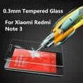 Vidrio anti explostion templado protector de pantalla de la película protectora para xiaomi redmi note 2/redmi note 3/redmi 2/mi3 mi4 mi4i