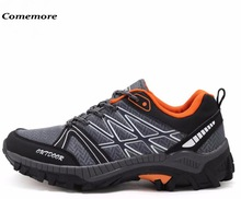 Comemore Men Trekking Shoes Outdoor Hiking Shoes For Man Climbing Shoes Slip Resistant Sports Sneakers Breathable Shoe