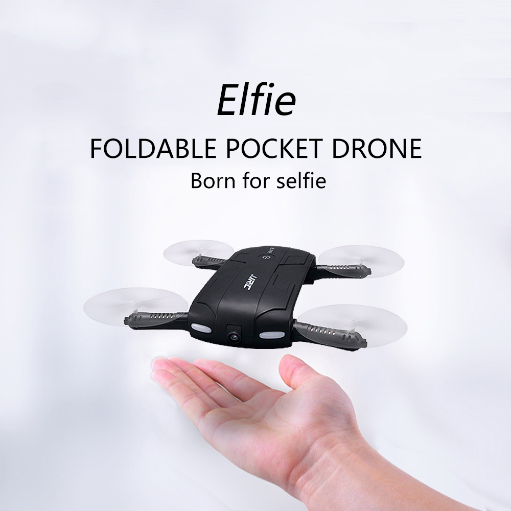 Original JJRC H37 ELFIE 4CH 6 Axis Gyro WIFI FPV Mini Drone RC Quadcopter with HD