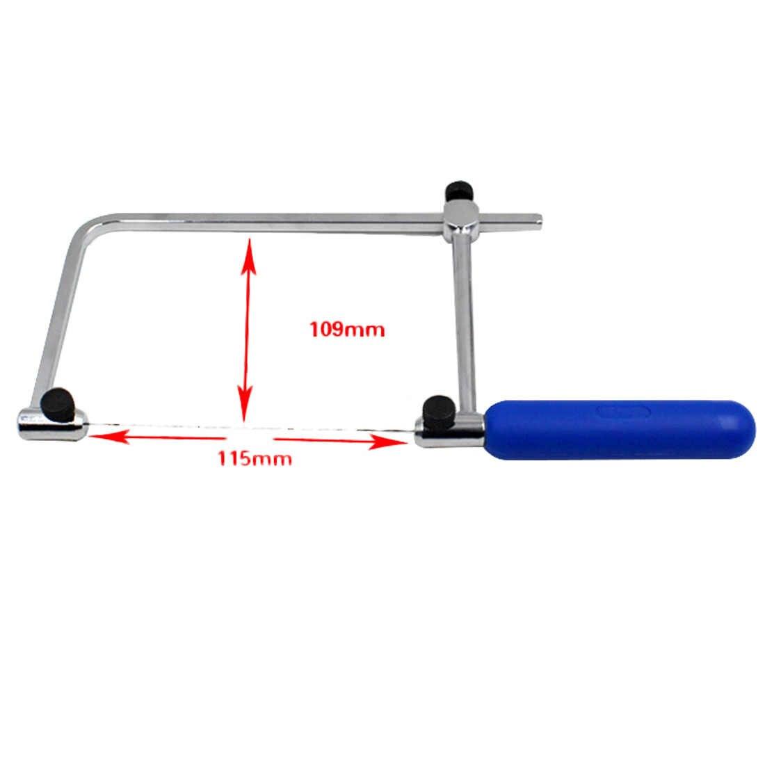 U şekli testere el aletleri için takı araçları demir testeresi ayarlanabilir testere çerçeve testere ayarlanabilir