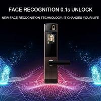 Eseye Face цифровой дверной электронный замок двери отпечатков пальцев интеллектуальные электронные замки умный дверной замок сенсорный экран