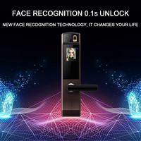 Eseye Face Digital Door Lock Electronic Lock Door Fingerprint Intelligent Electronic Locks Smart Door Lock Touch Screen Keyless