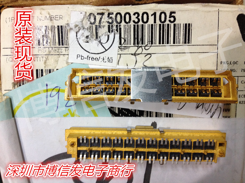 ФОТО 750030105 MOLEX 48 pin 1.2 MM slabs plate and sandwich connector
