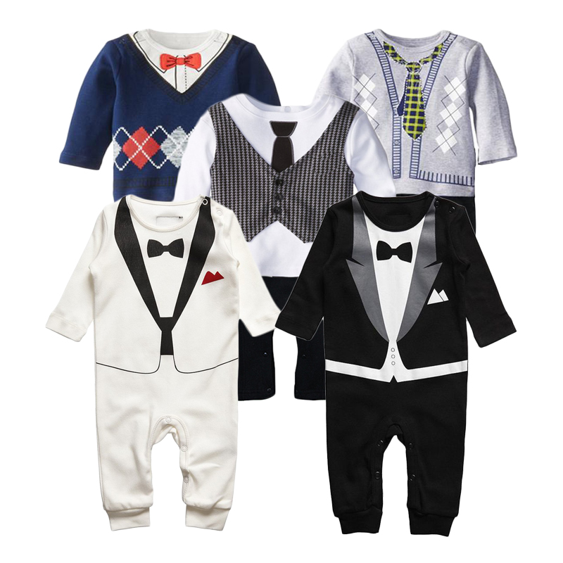 Baby Rompers Children Autumn Clothing Set Newborn Baby Clothes Cotton Boy Rompers Long Sleeve Girls Clothing Sets Kids Jumpsuits 2018 new style spring kids baby girl clothes 2pcs casual girl outfits sets denim jackets sleeveless dress vetement fille 13 14