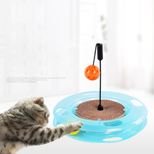 Mrosaa Hot Cat Scratch Board Crazy Ball Disk