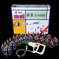 24 Pcs Massage Cans Massager Health Monitors Products Cans Opener Pull Vacuum Cupping Massage Cupping Massage