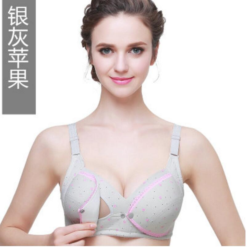 New Breast Feeding Maternity Nursing Bra Plus Size A B C D E Nursing Mothers Clothing Clothes For Pregnant Women Underwear Front