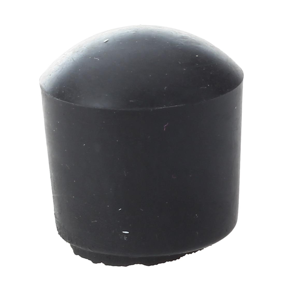 8Pcs 5/8 Inch Foosball Soccer Football Table Rod Lid End Cap Fussball Black