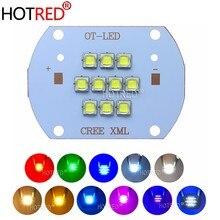 High Power Led Chip CREE XLamp XM-L XML2 50W 100W 5050 SMD Warm Kalt Weiß Rot Grün See blau Rosa Licht Birne Bead COB Lampe