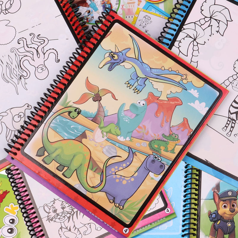 Magic Water Drawing Book Coloring Book Doodle With Magic Pen Painting Drawing Board Coloring Book Kids Toys Educational ToysMagic Water Drawing Book Coloring Book Doodle With Magic Pen Painting Drawing Board Coloring Book Kids Toys Educational Toys