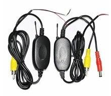 Kit Receptor Transmisor de Video inalámbrico Para Monitor Del Coche de La Opinión Posterior Del Coche Cámara de Reserva Reversa Envío gratis KF-V1111