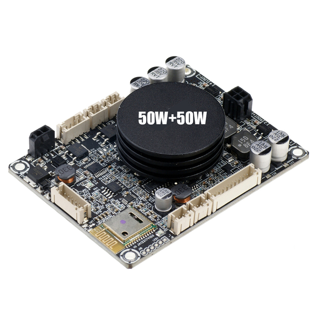 TPA3116 بلوتوث 4.0 الرقمية مكبر كهربائي 50W + 50W 2.0 ستيريو مضخم الصوت مجلس 24VDC