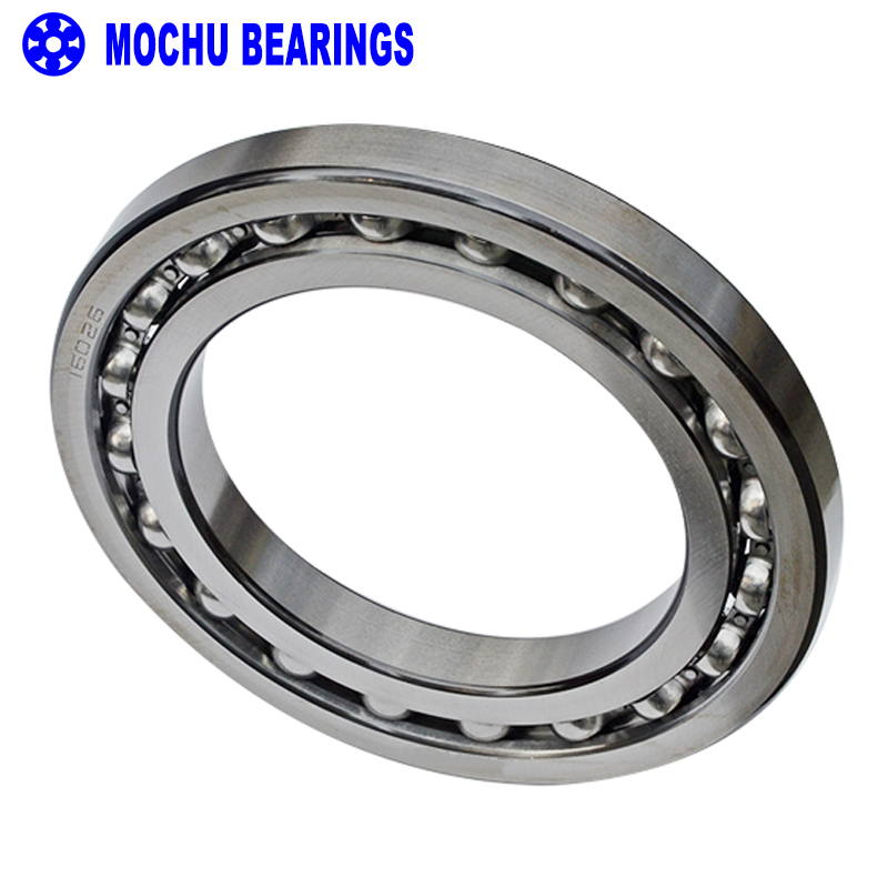 1pcs Bearing 16026 7000126 130x200x22 MOCHU Open Deep Groove Ball Bearings Single Row Bearing High quality 6007rs 35mm x 62mm x 14mm deep groove single row sealed rolling bearing