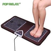 Pop Relax Nuga Nm55 turmalina germanio arco de pie masaje con acupuntura Mat segundo corazón masajeador de pies calefactor F01B mejor