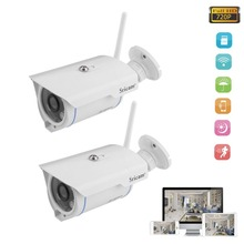 2pcs/set  Sricam SP007 HD Onvif 2.4 P2P IP Camera Wireless Network WIFI Outdoor Indoor Home Security Monitor Camera
