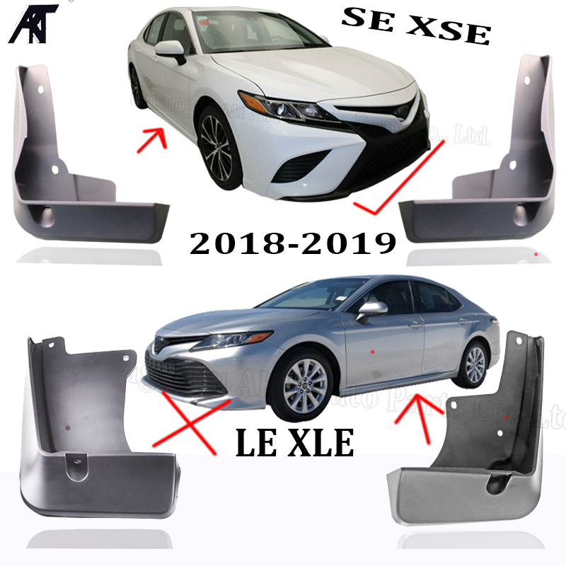 Fit For Toyota Camry 2018 18 up Splash Guards Mud Flaps Mud Guards A Set 4 PCS