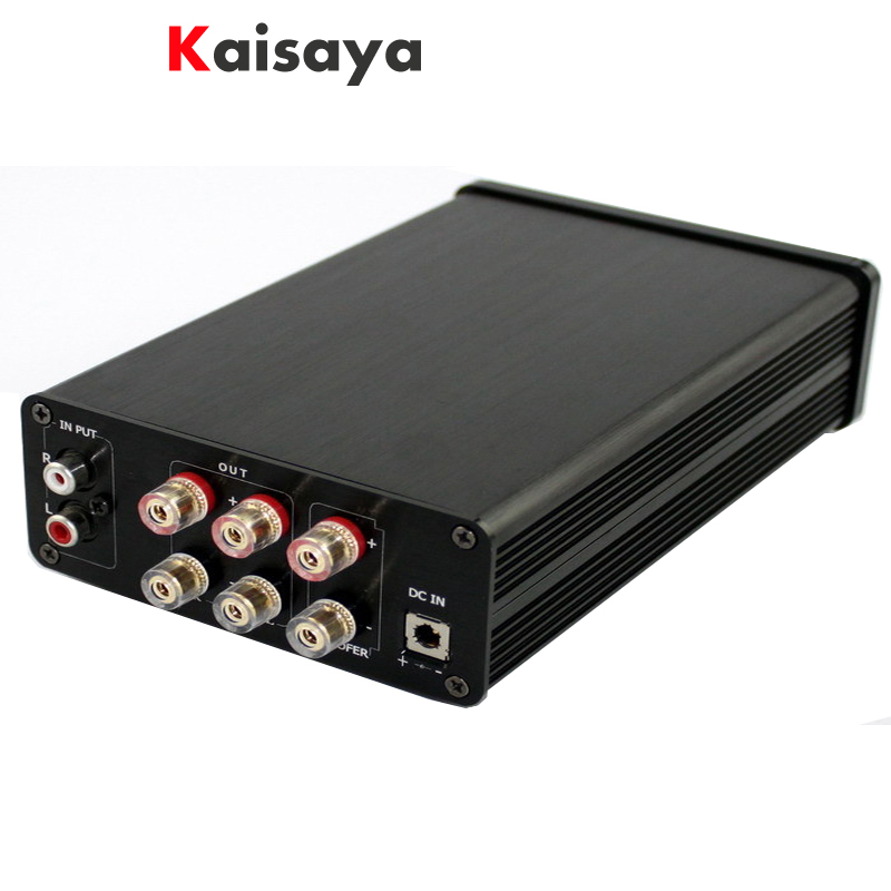 High quality TAS5630 + OPA1632DR + TL072 2.1 Class D 300W + 150W + 150W HIFI power home aduio amplifier machine lusya tas5630 opa1632dr tl072 2 1 amplifier machine home aduio amplifier machine class d 300w 2 150w