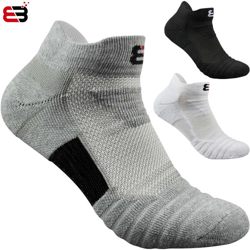 2019 Super Elite 2 Pairs Professional Sports Socks Running Classic Breathable Cotton Basketball Badminton Tennis Basketball Sock