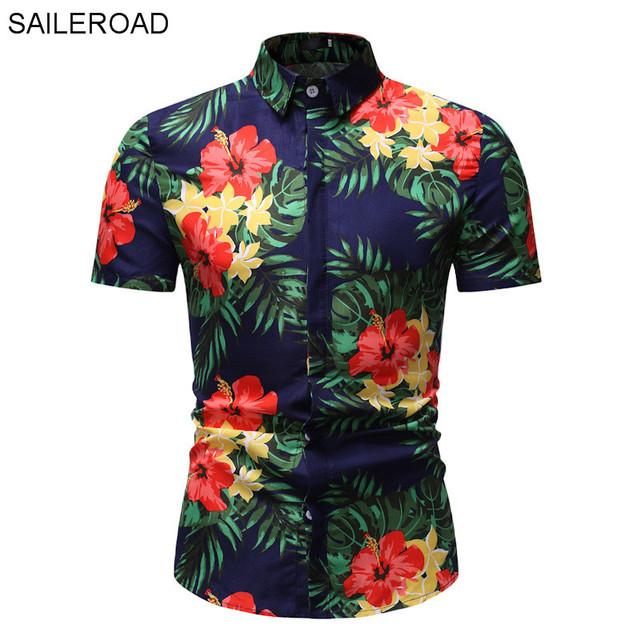 Hermosa camisa de hombre Hawaiana