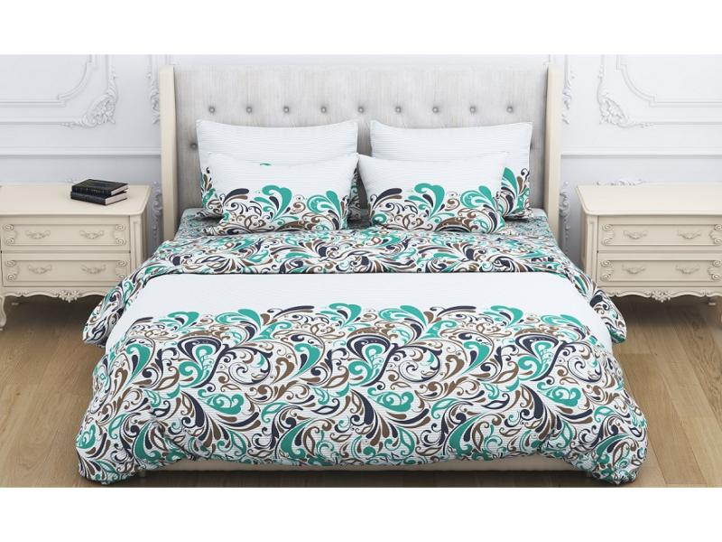 Bedding Set double Amore Mio, Tapes, turquoise turquoise ring set 8 pieces set