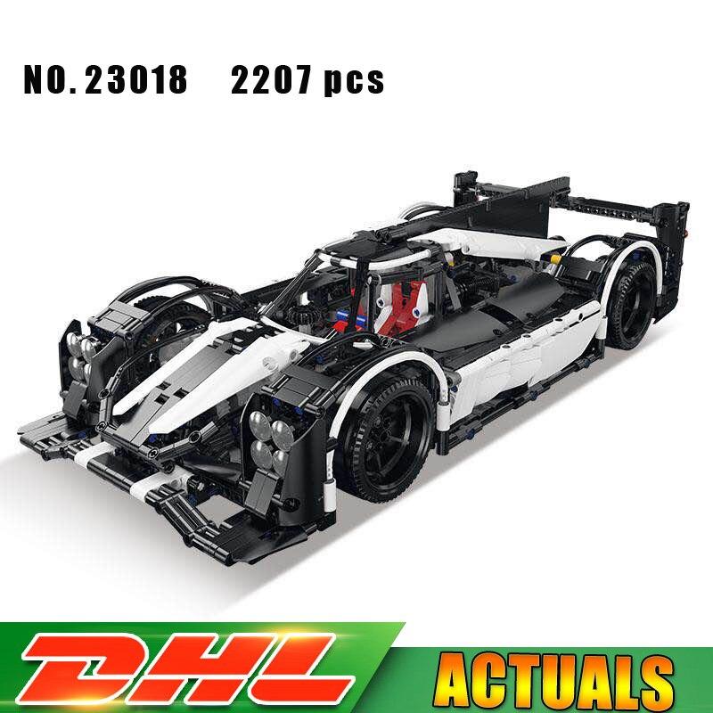 2018 New Lepin MOC-5530 Technic Hybrid Super Racing Car F1 Set Building Blocks Bricks Car Toys Compatible LegoINGlys 23018 цена
