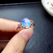 shilovem 925 sterling silver real Natural opal Rings fine Jewelry women trendy wedding open new Christmas gift mj0810089ago shilovem 925 sterling silver natural opal rings fine jewelry women trendy wedding open new wholesale gift mj0810111ago