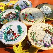 Набор для вышивания рукоделия Наборы для вышивания крестиком для начинающих Практика Игла DIY художественное шитье ремесло настенная живопись Декор