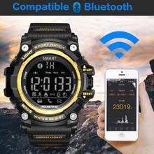 GIMTO Diving Sport Watch Men Digital Bluetooth Smart Watch Shock Waterproof Smartwatch Pedometer Running Electronic Wrist