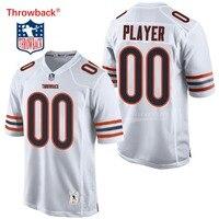 43fcf9ae006d8 Salto Jersey hombre Jersey de Chicago Camisetas fútbol americano Jersey  personalizado cualquier número de nombre de