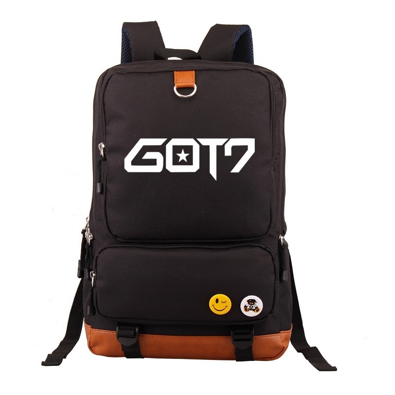 Korean Fashion GOT7 School Backpack space mochila Women Children School bag Back Pack Leisure Men Knapsack Laptop Travel Bags fashion free shipping just hype pattern back to school backpack mochila batoh plecak