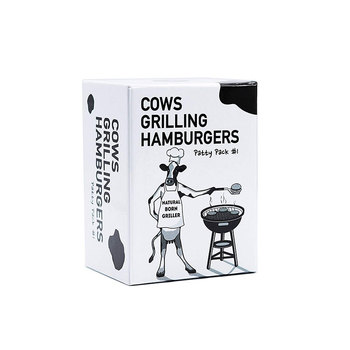 Cows Grilling Hamburgers Board Games Parent-child interaction Table Party Card Toys For Adults Playing Funny Education Gift