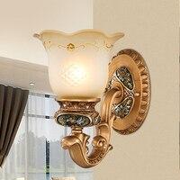Настенный светильник для Гостиная Спальня прикроватные смолы настенные светильники проход лестницы светильники светодиодные Ванная комн