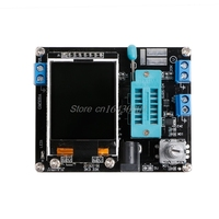 LCD GM328A Transistor Tester Diode Capacitance ESR Voltage Frequency Meter PWM Square Wave Signal Generator