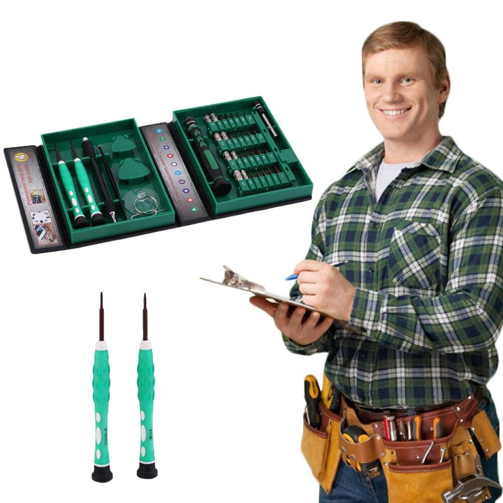 Durable 38pcs Screwdriver Set Repairing Computer Instruments Precision Multipurpose Screws Electronic Repair Tools Kit