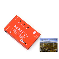 Mini FPV DVR Module NTSC/PAL Switchable Built in Battery Video Audio Recorder for RC Models Racing FPV Drone DIY Sapre Parts