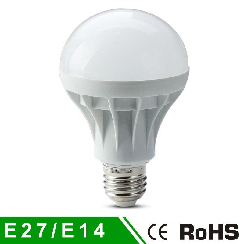 E27 высокой мощности 220 В светодиодные лампы SMD5730 светодиодные лампы Теплый белый/белый 3 Вт 5 Вт 7 Вт 9 Вт 12 Вт 15 Вт 5730 SMD E14 лампада led